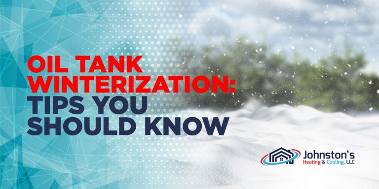Oil Tank Winterization: Tips You Should Know